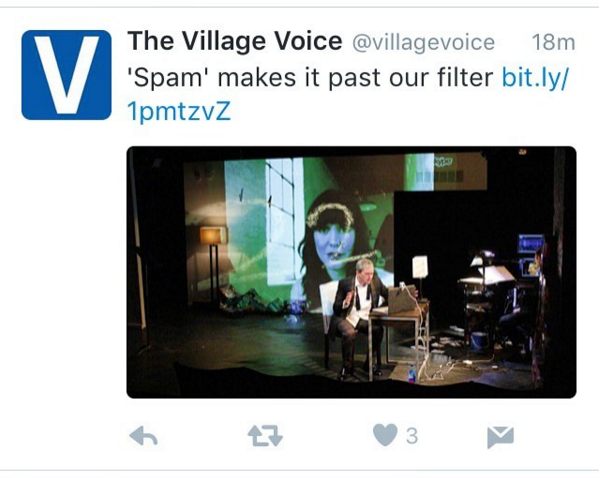 Spam Cherry Arts Village Voice